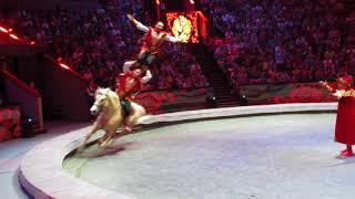 """Шоу """"Эпицентр мира"""". Выступление на лошадях."""