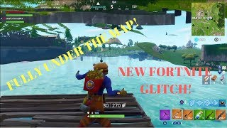 Fortnite Glitches: *NEW INSANE* Under The Map GOD MODE Wallbreach Glitch In Fortnite!