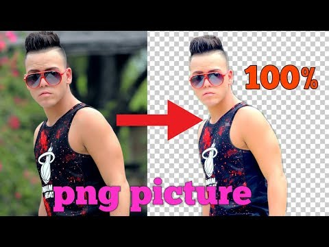 How To Make PNG File In Picsart | Remove Image Background On Android PicsArt Editing Tutorial |