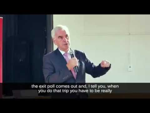 John McDonnell speaks about Election night and his funny encounter with Michael Fallon on BBC News