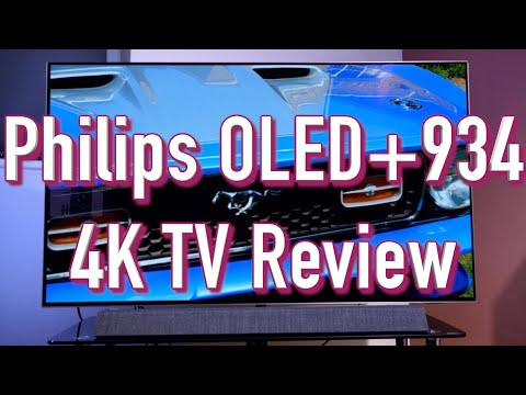 Philips OLED+934 4K OLED TV Review - Sensational Bowers and Wilkins Sound
