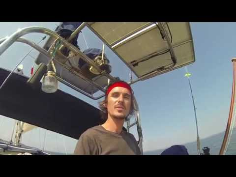 How we installed our solar panels onto our boat