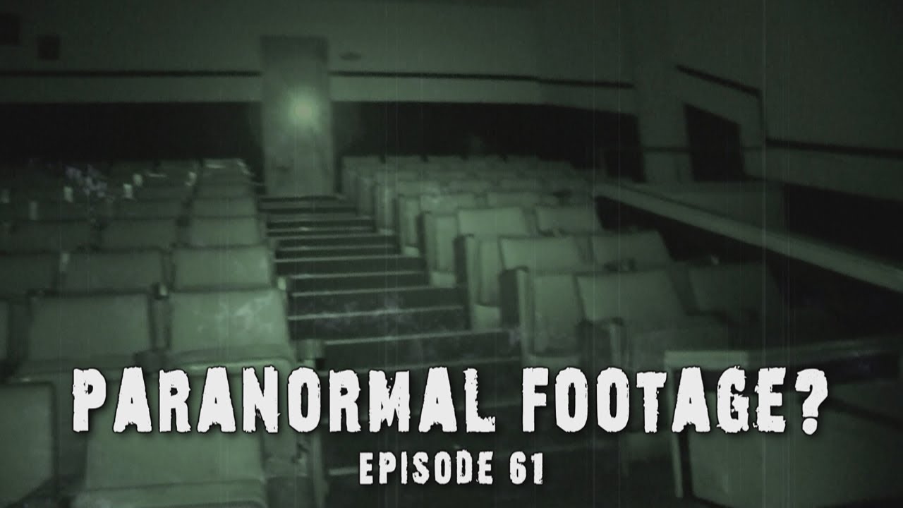 Real paranormal footage ghost at haunted theater de ep 61