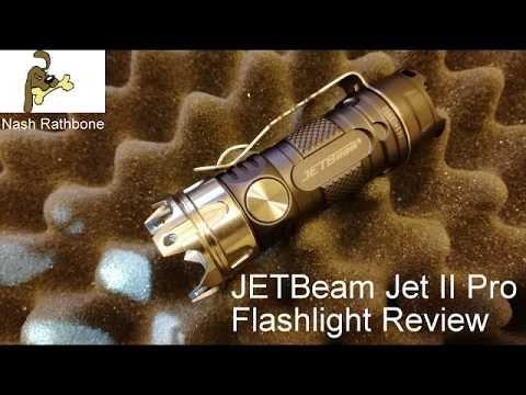 JETBeam Jet II Pro Flashlight review
