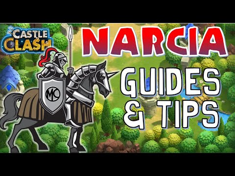 Castle Clash Narcia Guides & Tips