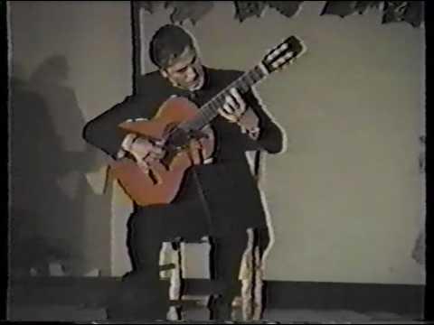 Juan Serrano: Flamenco Guitarist Documentary and Concert.