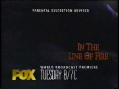 """""""In the Line of Fire"""" Broadcast Premiere Commercial Fox (1996)"""
