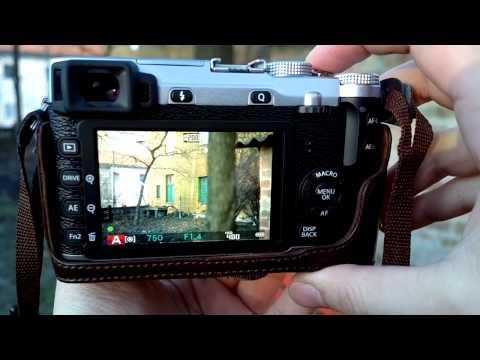 Fuji X-E1 vs X-E2 autofocus test XF 35mm f/1.4 R