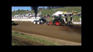 NZ Tractor pull Fieldays 2013 Modified Tractors