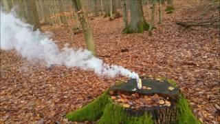 Цветная дымовая шашка Smoke Fountain White (Польского производства)