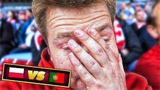 TYPOWY KIBIC? byłem na meczu POLSKA  vs  PORTUGALIA!