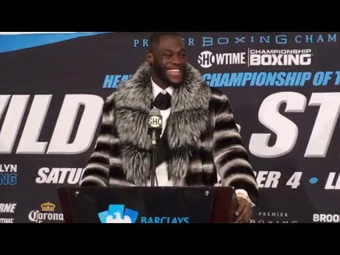 WILDER VS STIVERNE 2 POST FIGHT PRESS CONFERENCE LIVE! WILDE