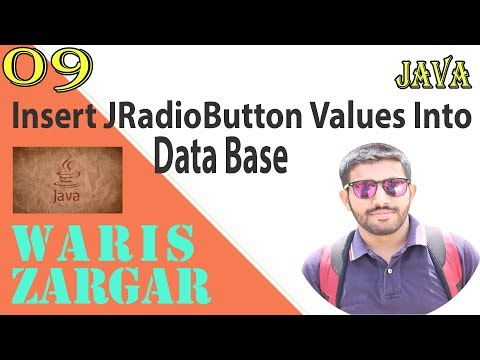 How To Insert Radio Button Value In Database In Java Netbeans ( Hindi | Urdu) Pat 8
