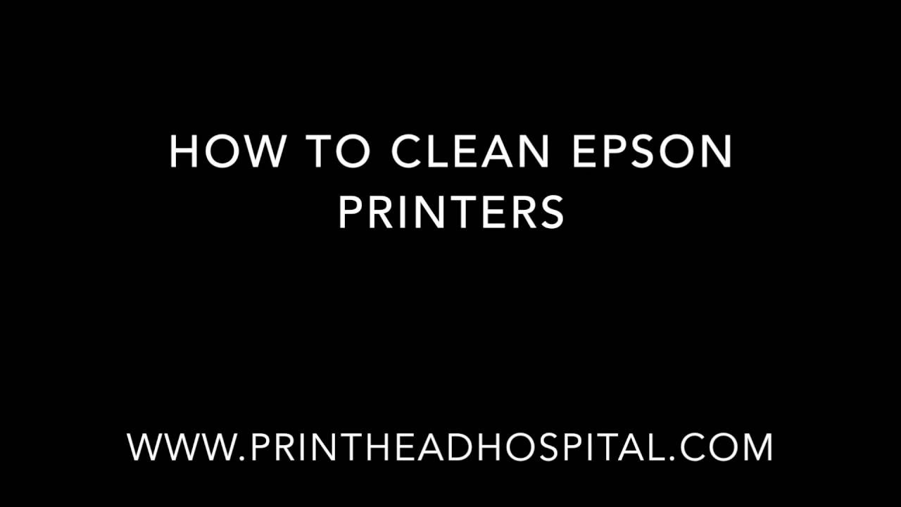 Epson Print Head Cleaning Kit for Epson Printers - Printhead Hospital®