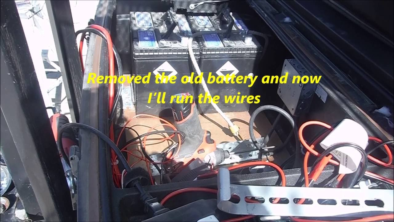 How To Connect Solar Panel Two Or More 12 Volt Batteries Youtube Wiring 12v In Parallel