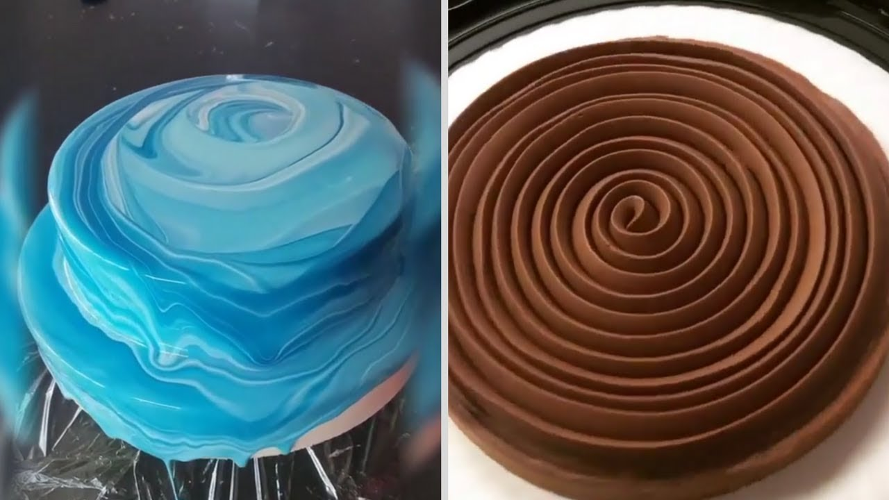 Satisfying Cake Decorating Videos 4 DIY Cake Decorating Ideas