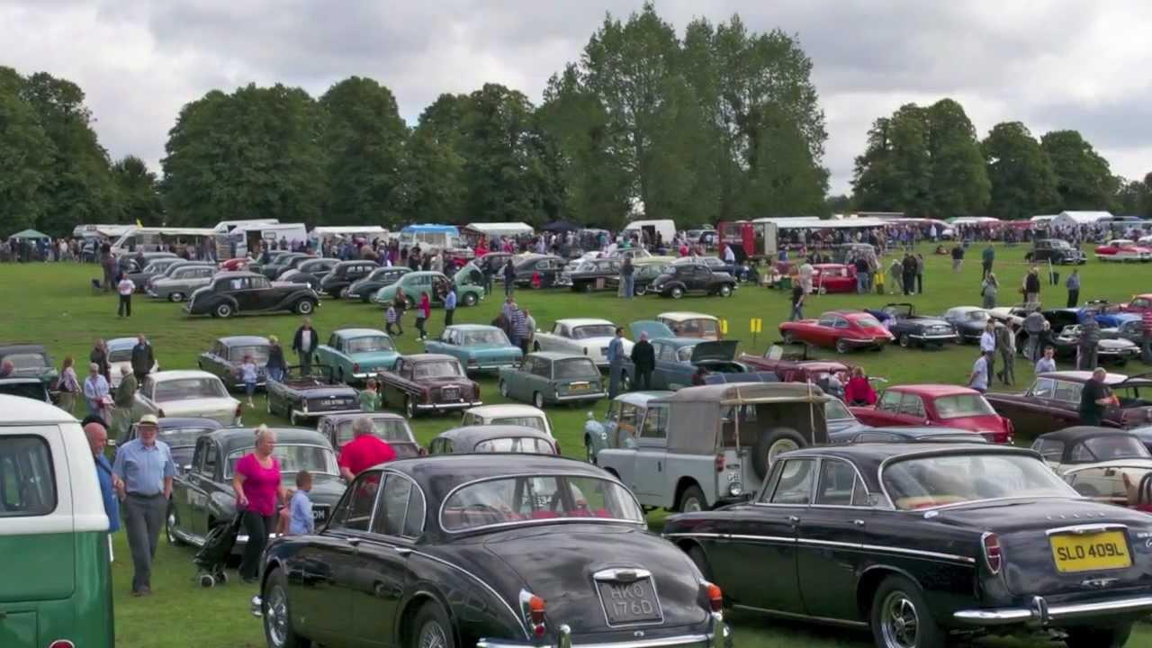 Knebworth Car Show