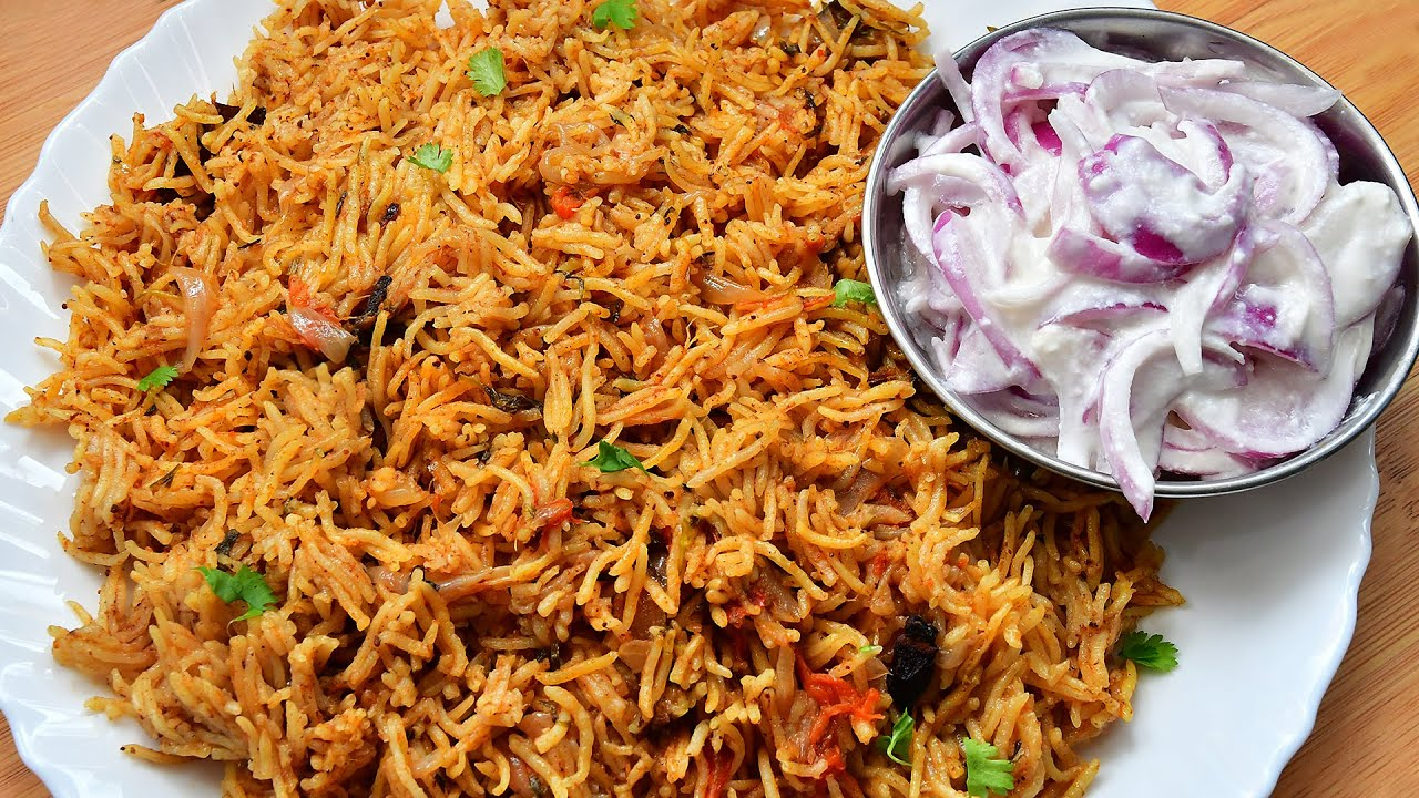 Plain Biryani Recipe/ Kuska Recipe/ Lunch Recipes