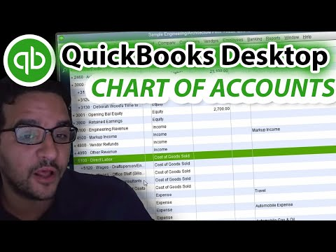 QuickBooks Chart of Accounts - Complete Tutorial