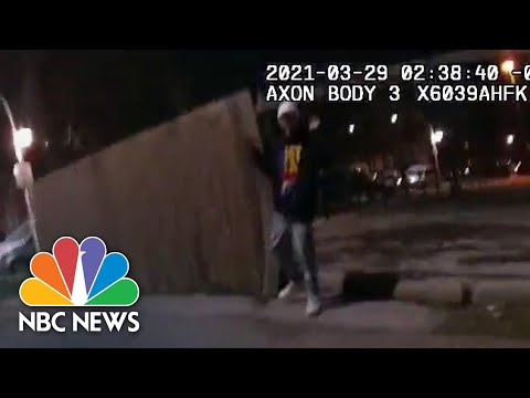 Body Camera Video Shows Fatal Shooting Of 13-Year-Old Adam Toledo In Chicago   NBC News NOW