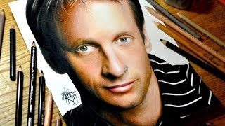 Drawing Tony Hawk