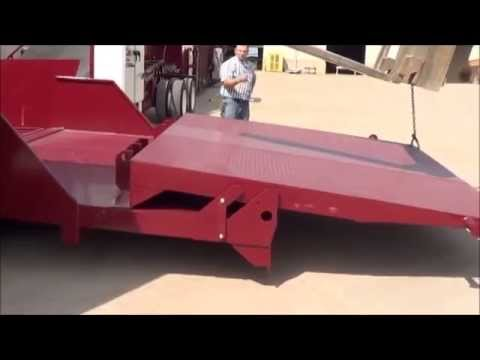 "72"" Self Contained Low Profile Truck Unloader"