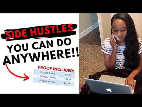 EASY SIDE HUSTLE IDEAS | Work From Home | NO EXPERIENCE NEEDED