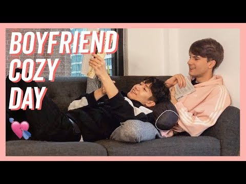 Boyfriends Rainy Day Vlog | Couple Lazy Sunday (SUB)