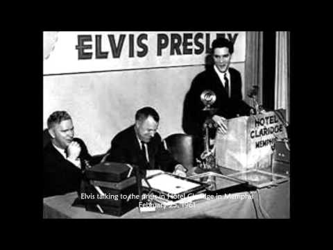 Elvis interview; February 25, 1961 - Memphis, Tennessee