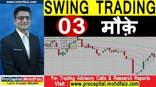 SWING TRADING STRATEGIES  03 मौक़े | Latest Share Market Tips | Latest Stock Market Recommendations