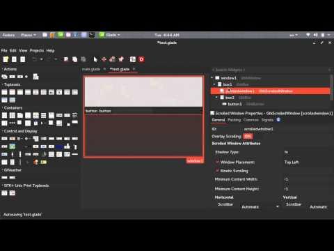 Python GUI Glade 174  الواجهات الرسومية