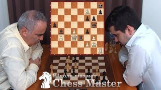 Каспаров УГОДИЛ В ЛОВУШКУ Яна Непомнящего!  Быстрые шахматы