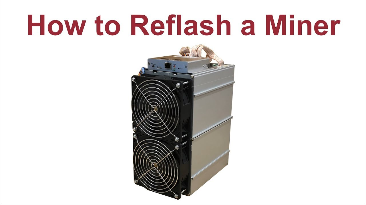 How to Reflash Antminer Firmware