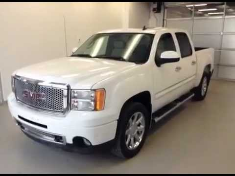 Used 2010 Gmc Sierra 1500 Awd Denali Crew Cab 106576 6 2l V8 Engine Beatiful Truck You
