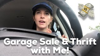 Garage Sales & Thrift Store Vlog! Come Hunt for Treasures with Me - Flipping for a Profit on eBay!