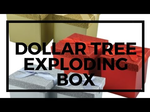 DIY Exploding Box   Valentine's Day gift   Jessica Sunshine