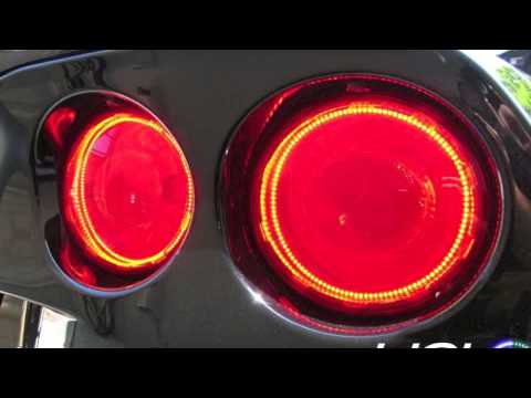 Chevy Corvette C6 2005 2013 Smd Led Tail Light Halos By