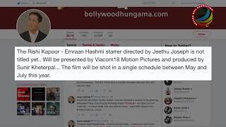 Rishi Kapoor & Emraan Hashmi Coming with Horror Thriller