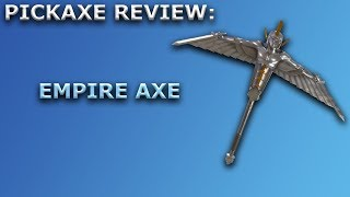 Empire Axe Pickaxe Review + Sound Showcase! ~ Fortnite Battle Royale