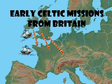 Early Celtic missionaries from Britain