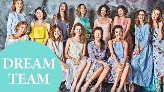 Команда Oh My Look! в рубрике Dream Team журнала PINK