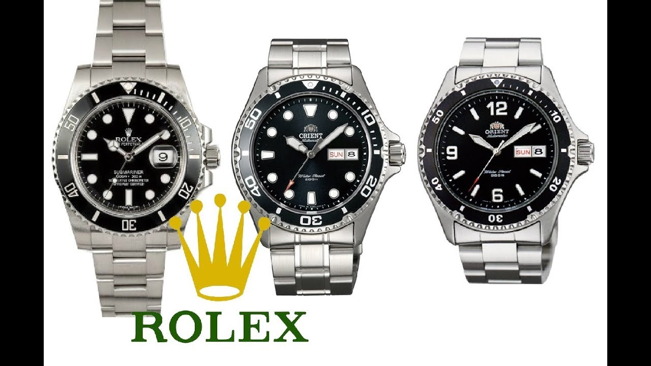 3fcc28f42d9 10 Stand Ins for a Rolex Submariner while you save up - YouTube