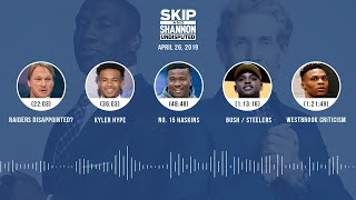 UNDISPUTED Audio Podcast (04.26.19) with Skip Bayless, Shannon Sharpe & Jenny Taft | UNDISPUTED