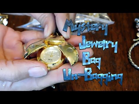 Diggin' with Dirty Girl S5E5: Mystery Jewelry Bag Un-Bagging, Finding Treasure to Re-Sell on Etsy