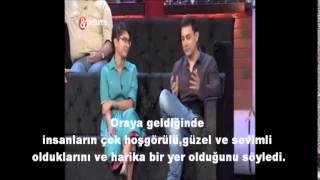 Aamir Khan 39;dan Türk Hayranına Cevap - Türkçe Altyazılı-