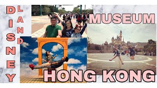 TRAVEL VLOG: HONGKONG DISNEYLAND (April 2017)