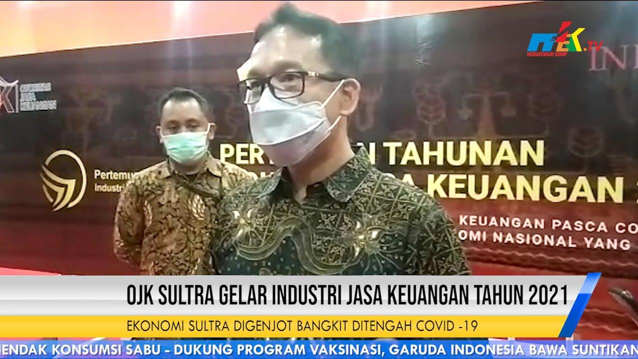 OJK Sultra Gelar Industri Jasa Keuangan Tahun 2021