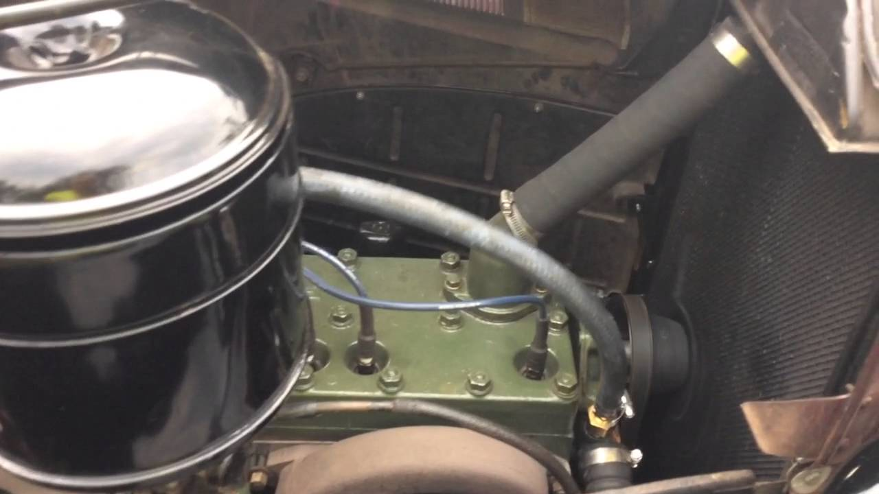 1937 Packard 115c- Running at idle