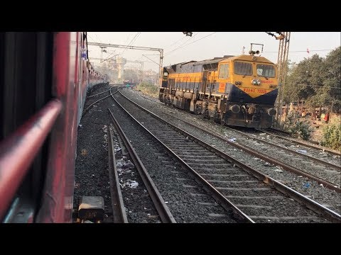 Mumbai To Rajkot Full Journey Onboard Bandra T Veraval Express | Electric+Diesel |