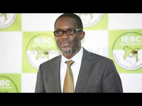 IEBC CEO Ezra Chiloba finds himself in a tight position just hours before elections